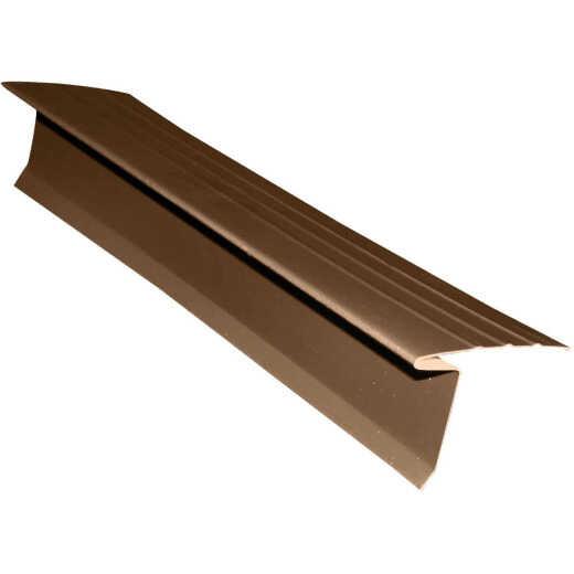 Klauer LL6 Roof Edge Flashing, Brown