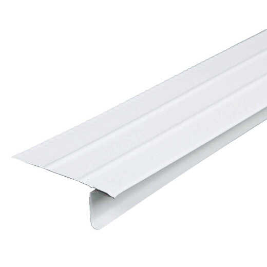 Amerimax F4-1/2 Economy Aluminum Drip Edge Flashing, White
