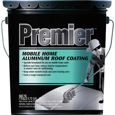 Premier 5 Gal. Mobile Home Aluminum Roof Coating