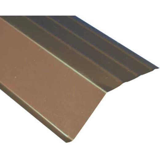 Amerimax 5 In. Galvanized Steel Roof Apron Flashing, Brown