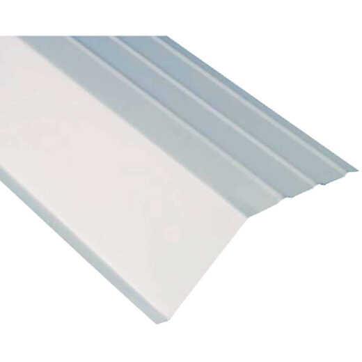 Amerimax 5 In. Galvanized Steel Roof Apron Flashing, White