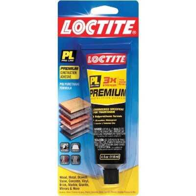LOCTITE PL Premium 4 Oz. Polyurethane Construction Adhesive