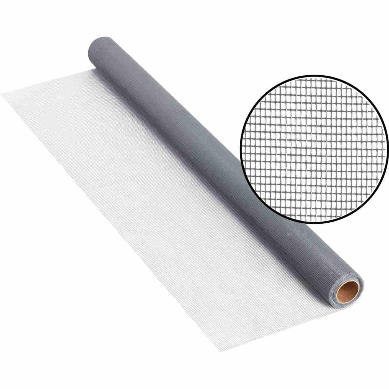 Phifer 48 In. x 25 Ft. Gray Fiberglass Screen Cloth Image 1
