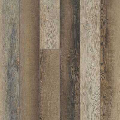 Floorte Pro Paragon Plus 5 In. x 48 In. Brush Oak Vinyl Floor Plank (15 Sq. Ft./Case)