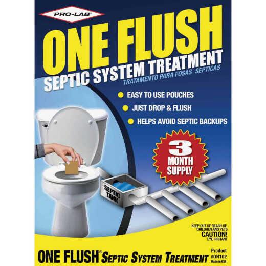 Pro Lab One Flush 1/4 Oz. Septic Tank Treatment (3-Pack)