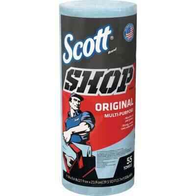 Scott 11 In. W x 9.4 In. L Disposable Original Shop Towel (55-Sheets)