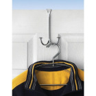 Spectrum Stratford Chrome Double Over-The-Door Hook Image 1