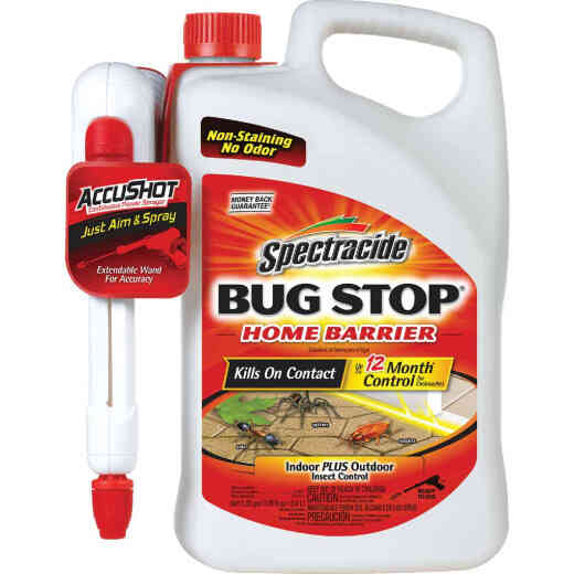 Spectracide Bug Stop Home Barrier 1.33 Gal. Ready To Use Wand Sprayer Insect Killer