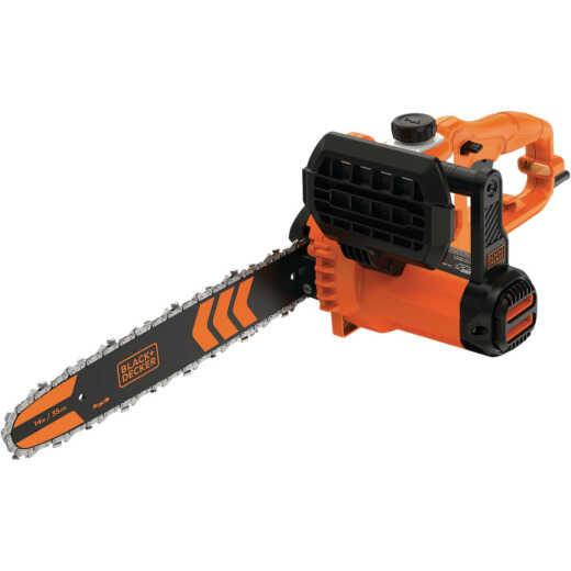 Black & Decker 14 In. 8A Electric Chainsaw