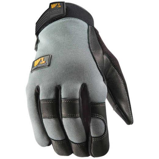 Wells Lamont FX3 HydraHyde Men's Large Leather Grain Goatskin Insulated Work Glove