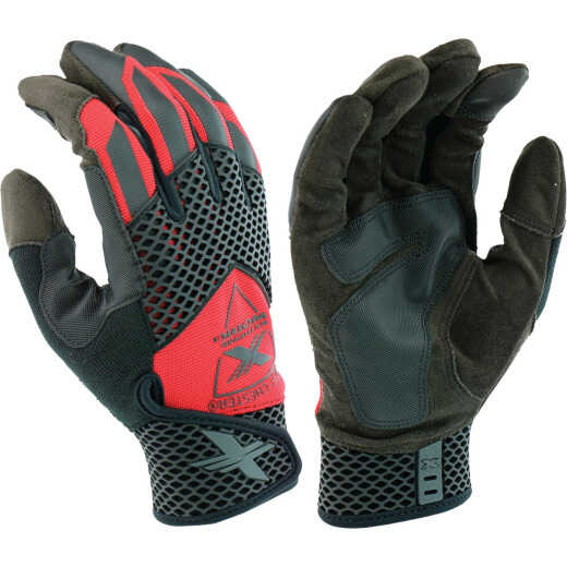 West Chester Protective Gear Extreme Work Knuckle KnoX Men's XL Synthetic Leather Work Glove