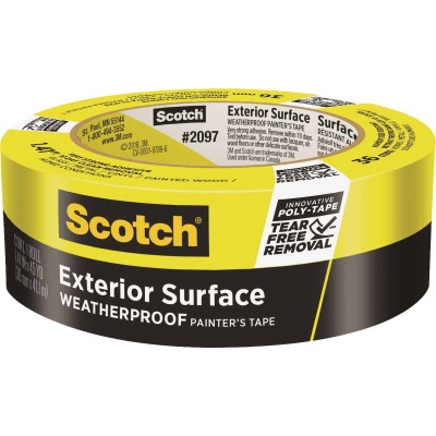 3M Scotch Blue 1.41 In x 45 Yd. Exterior Surface Painter's Tape