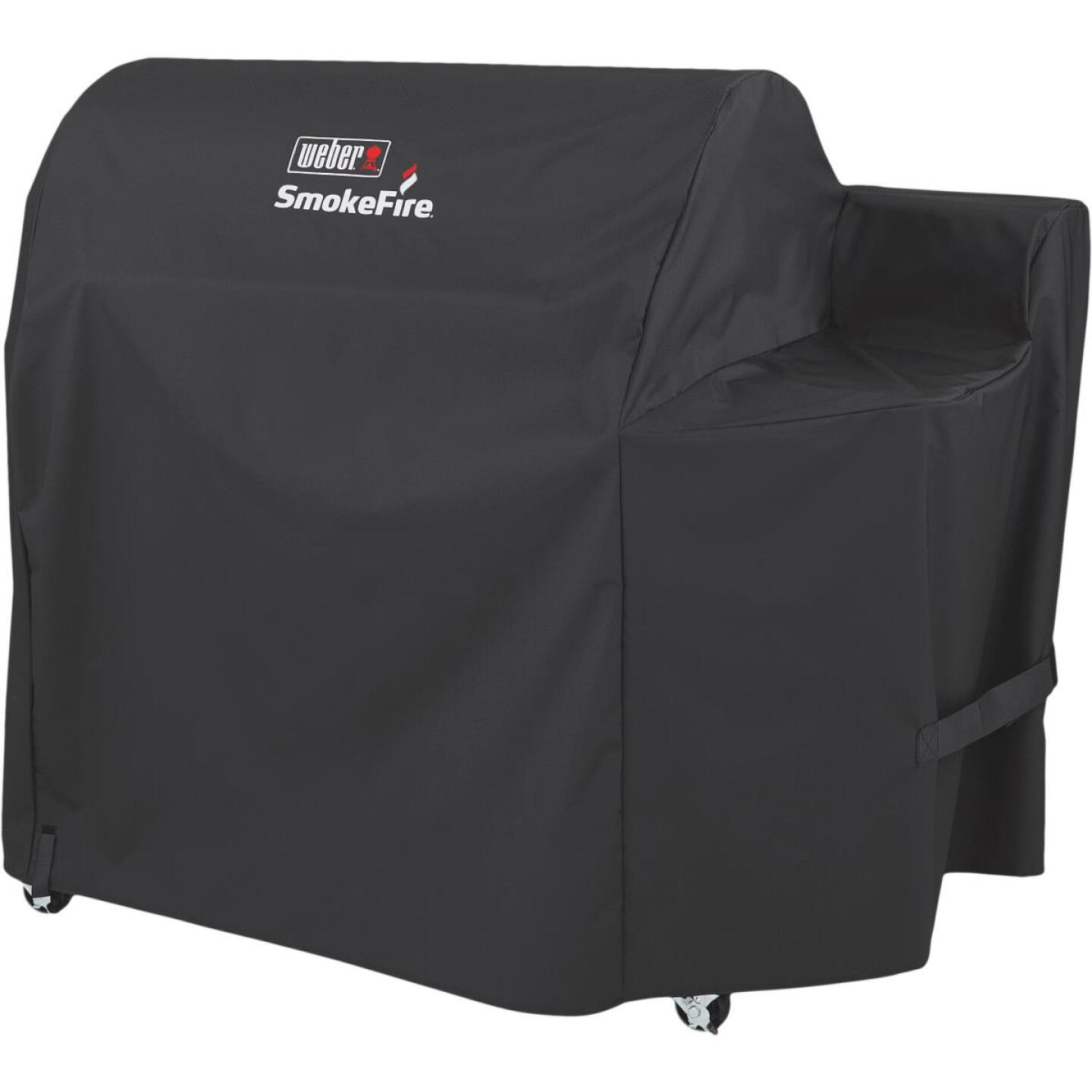 Weber SmokeFire 65 In. Polyester Grill Cover Image 2