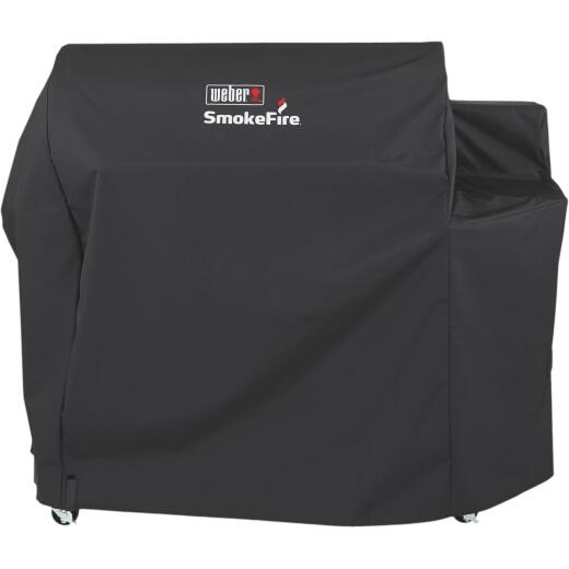 Weber SmokeFire 65 In. Polyester Grill Cover